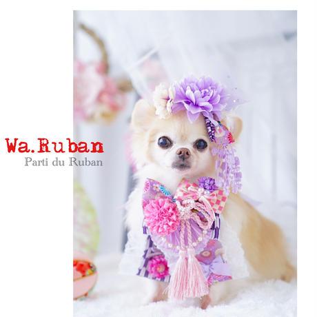 《Wa.Ruban》矢羽 紫 チョーカー&ヘッドアクセ