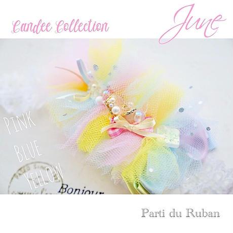 Candee Collection 《6月》チュールふわふわ♡シェルハート