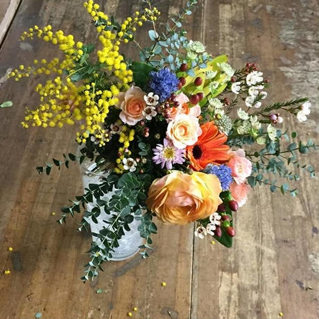 季節の花束