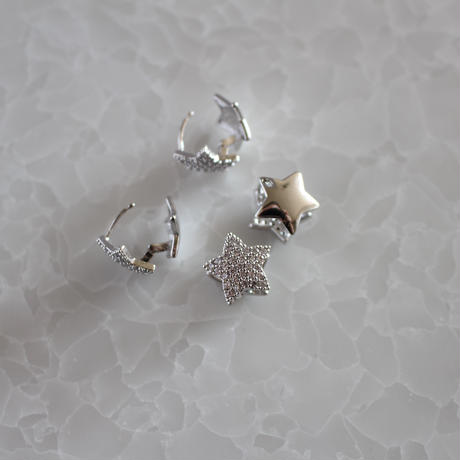 bijou&silver STAR 2way  pierce