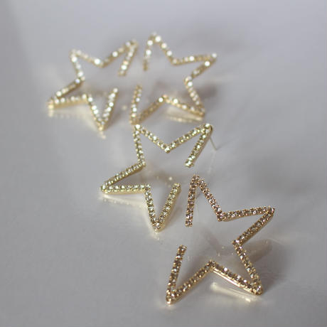 line half STAR pierce