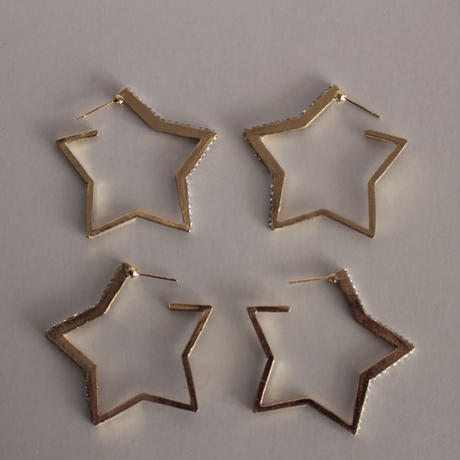 STAR hoop pierce