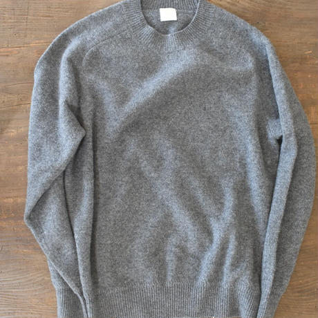 phlannel SOL   wool cashmere crew neck knit