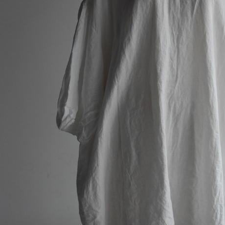 oldman's tailor GARMENT DYE GATHER SLEEVE SHIRT