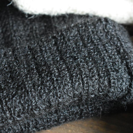 KIJIMA TAKAYUKI  / alpaca  knit rib beanie