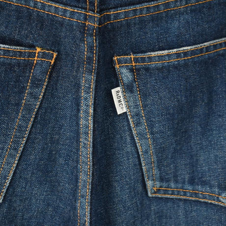 R&D.M.CO-   TAPERED DENIM PANTS  リジッド