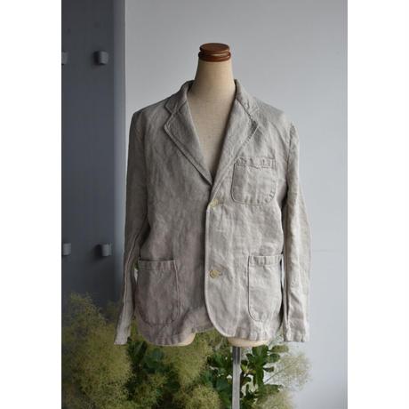 R&D.M.CO-  linen denim jacket