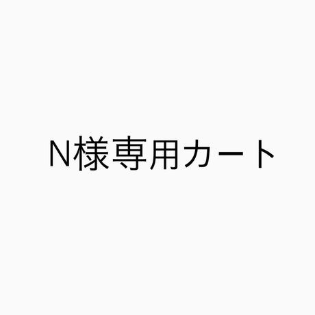 N様専用カート (有効期間6/20 まで)