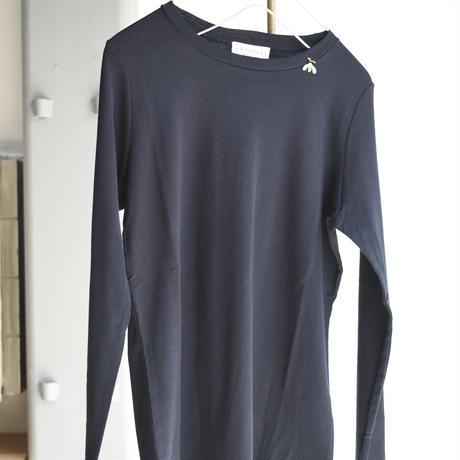 アンティパスト  cotton frice T shirt with bee