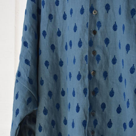 R&D.M.CO-  artichoke flocking finish buggy shirt