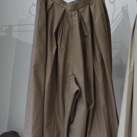 R&D.M.CO- light moleskin tuck culotte