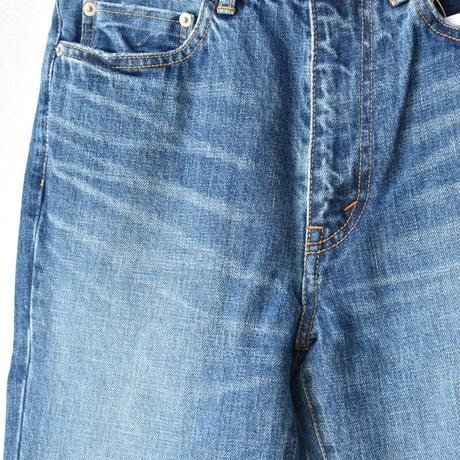 NARROW STRAIGHT denim pants vintage like