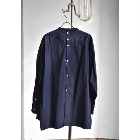 TOUJOURS     Back button  tucked bosom  long shirt
