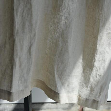 R&D.M.CO-  densely linen tie  robe