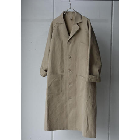 R&D.M.CO-  cotton linen work coat