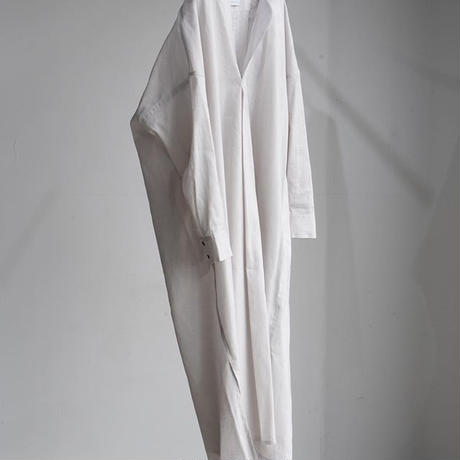 phlannel   American sea island linen  smock shirt dress