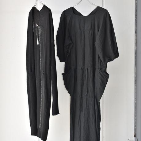 oldman's  tailor  LINEN KNIT CARDIGAN