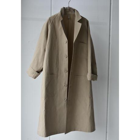 R&D.M.CO-  cotton linen work coat