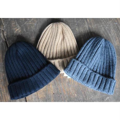 KIJIMA TAKAYUKI/ cashmere  knit watch cap