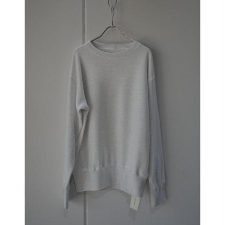 TOUJOURS    CROW NECK  PULLOVER