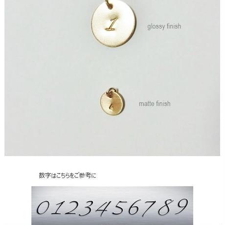 数字(ナンバー)プレートネックレス