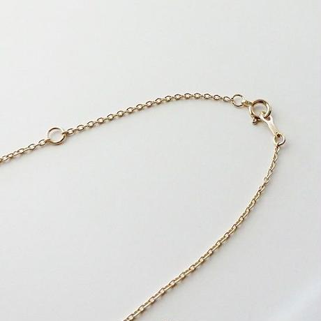 イニシャルネックレス【10金】