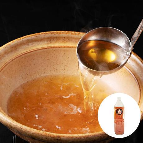 【戸島ぶりしゃぶしゃぶ専用追加出汁】全て手作り特製和風出汁1.5L!