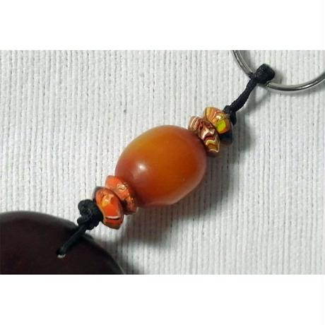 【送料無料】ズールーラブビーン モダマ 豆 キーリング112
