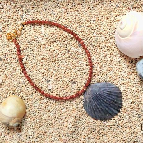 大西洋から届いた小さな贈り物 - 黒ほたて貝のアンクレット