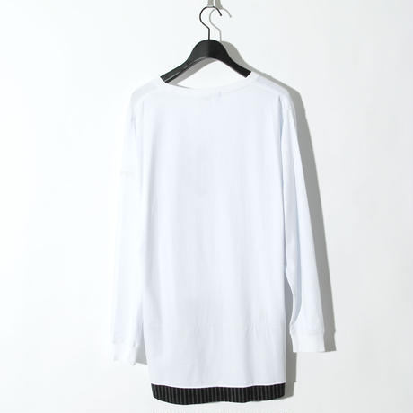 BH Spray L/S Tee / WHITE 2904110