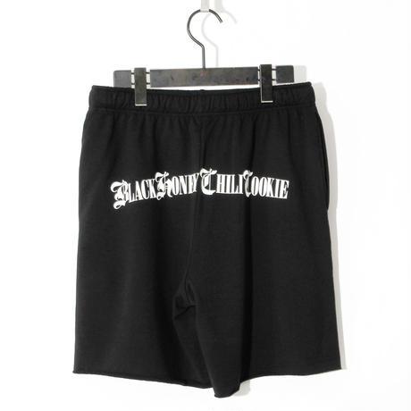 B.H.C.C Logo Print Short Pants(SUVIN GIZA COTTON) / BLACK 2905404