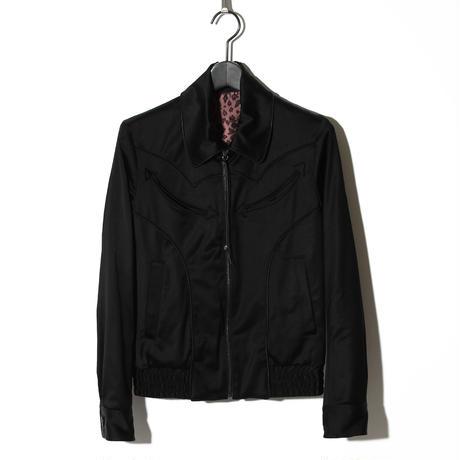 Satin Blouson / BLACK 2902310