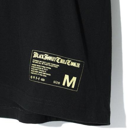 B.H.C.C Logo Print Tee / BLACKxGOLD 2904501