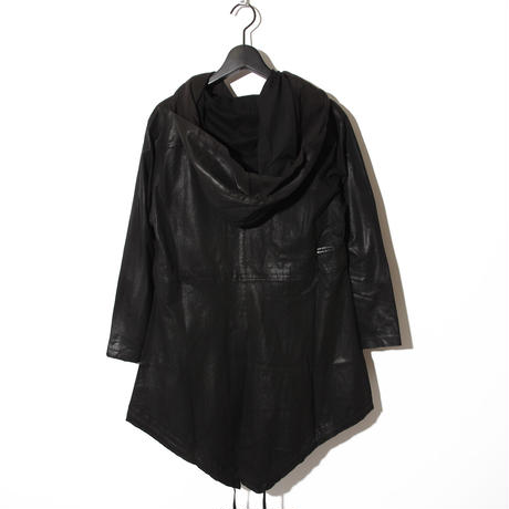 Processing Layered Parka Cardigan / BLACK 2902203