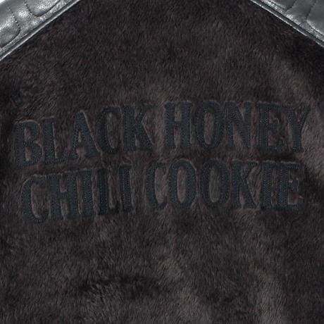 B.H.C.C Embroidery Fleece Blouson / BLACK