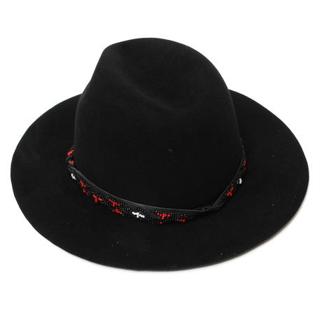 Beads Belt Rabbit Hat / BLACK 2902705
