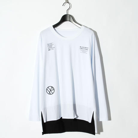 Massage Logo L/S Tee / WHITE 2904113