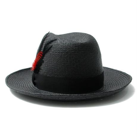 Panama Hat (W/Feather) / BLACK 2904701