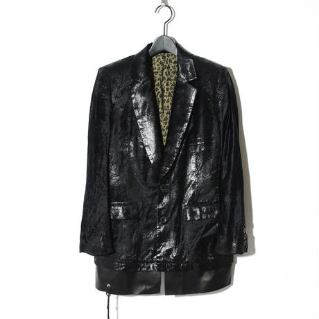 -Atelier sale-Foil Processing Jacket / BLACK 2902314