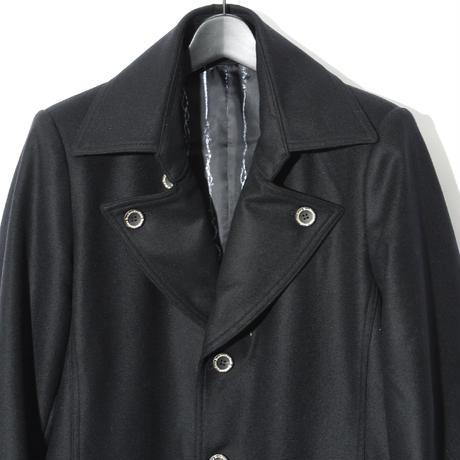 Melton Coat / BLACK 2903311