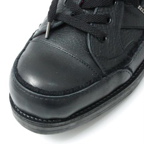 Leather Sneaker / BLACK 2904601