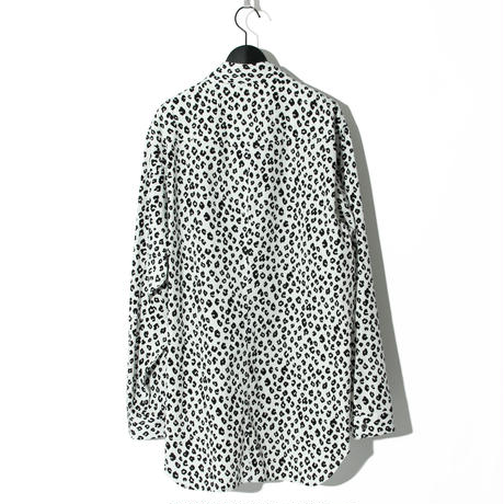 Leopard Pattern Shirt / WHITE 2903602