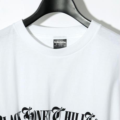 B.H.C.C Logo Print Tee / WHITExBLACK 2904501