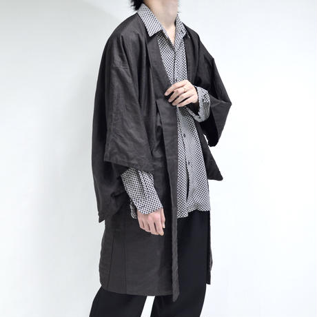 kimono coat / stripe [T-0073]