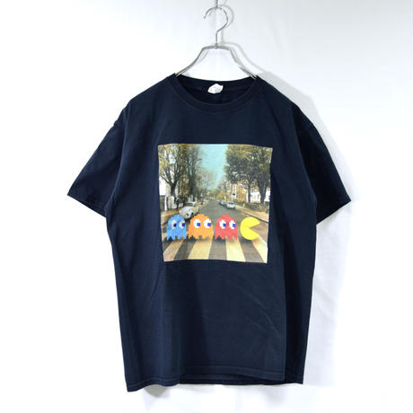 old pac-man printed tee shirts [T-0041]