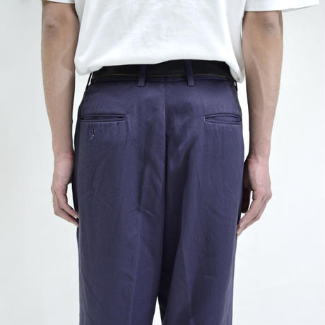 balloon design pants / purple [P-0034]