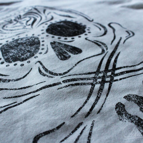 BLACKORDER ORDER-033 『81-SKULL』T-shirts WHITE
