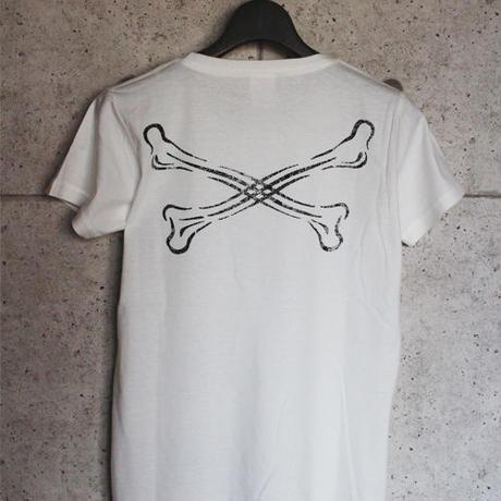 BLACKORDER ORDER-032 『C-BONE』T-shirts WHITE