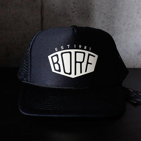 BLACKORDER  ORDER-029 『BORF』CAP BLACK