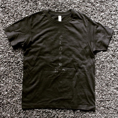 BLACKORDER ORDER-046 『CLOSER No.9』T-shirts  BLACK × BLACK